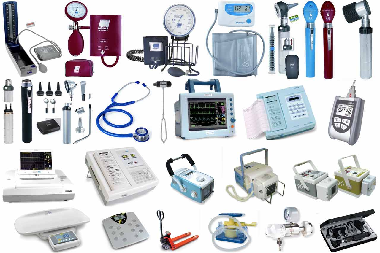medicla-equipment-list